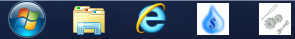 Windows Taskbar Pinned Graphics